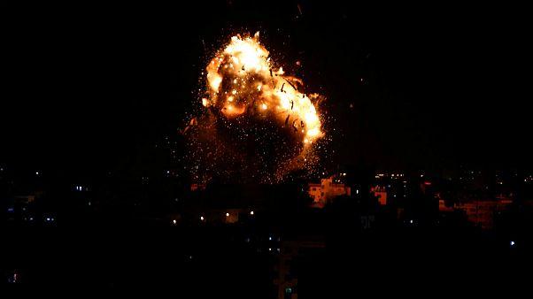 شلیک صدها راکت از غزه به جنوب اسرائیل