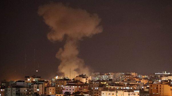 Israel bombardeia alvos militares do Hamas