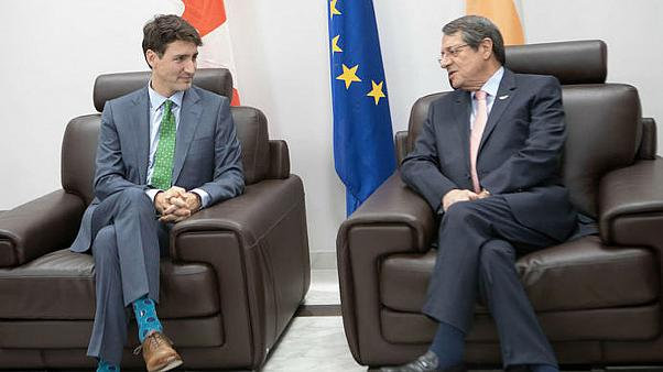 Συνάντηση Ν. Αναστασιάδη με τον πρωθυπουργό του Καναδά