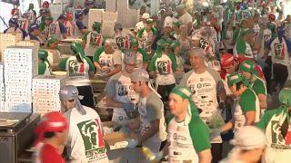 Les pizzaiolos argentins plus rapides que leurs homologues italiens, selon le Guinness Book