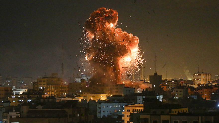 Israel bombardiert Hamas-Fernsehsender