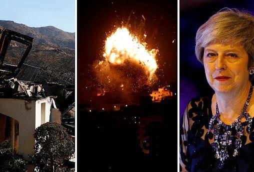 Live: California fires, Gaza violence, Brexit 'endgame'