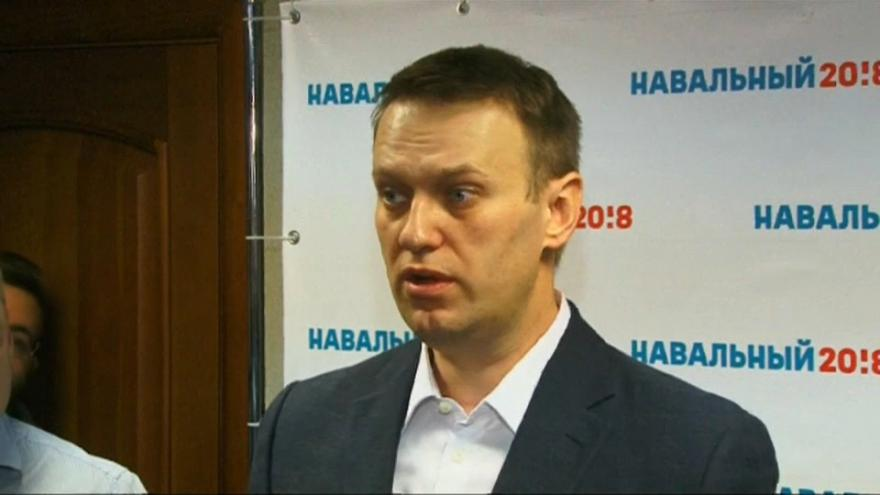 Navalny impedido de deixar a Rússia