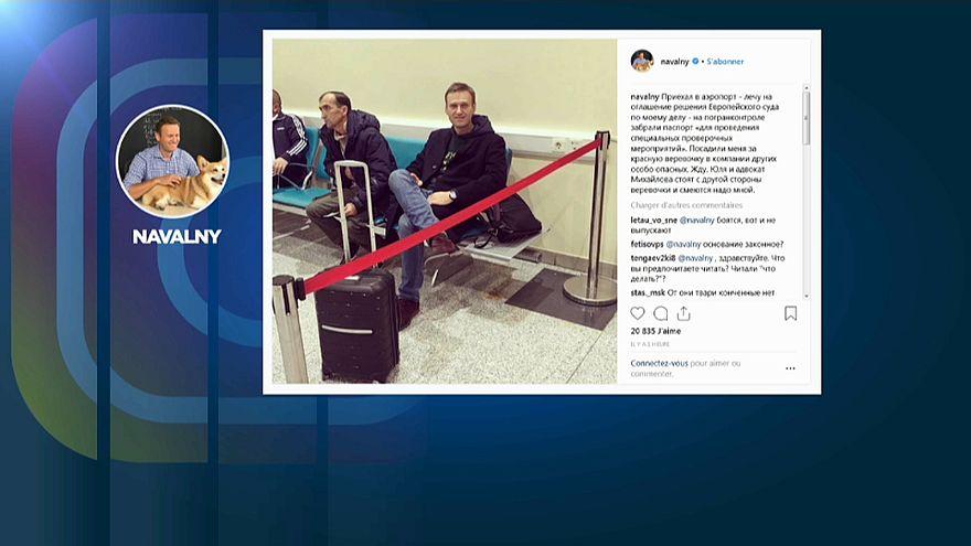 Rusia prohíbe a Navalny salir del país
