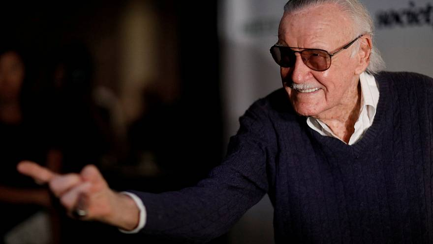 Stan Lee: tributes pour in for comic legend