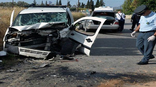 Νέο θανατηφόρο τροχαίο στην Εγνατία με όχημα που μετέφερε μετανάστες