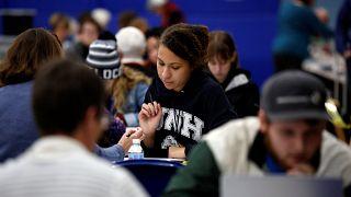 Eğitim için ABD'yi tercih eden öğrenci sayısında iki yıl üst üste düşüş