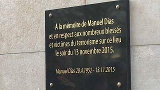 Homenagem às vítimas dos ataques de 2015 em Paris