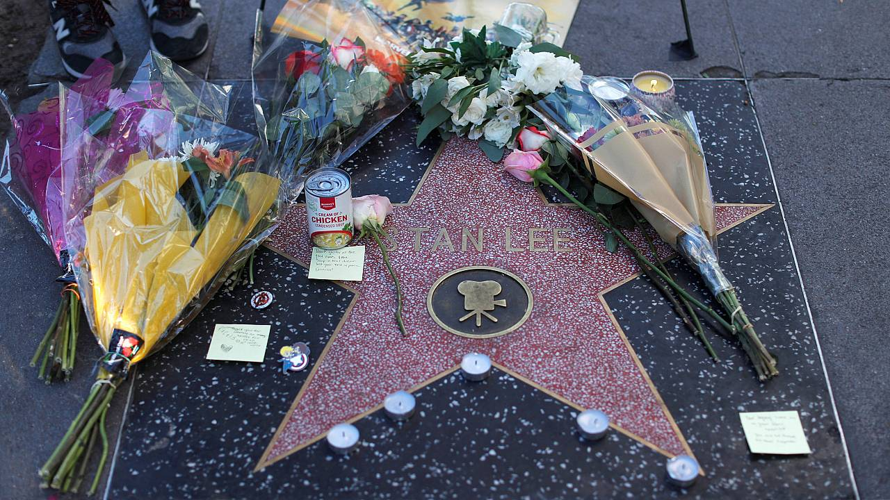 Hollywood homenageia Stan Lee