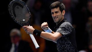 ATP Finals: Πρεμιέρα με το δεξί για τον Τζόκοβιτς