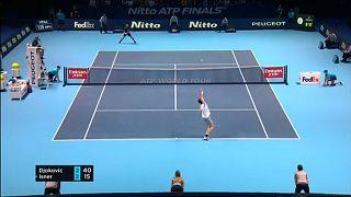 Győzelemmel indított Djokovic Londonban