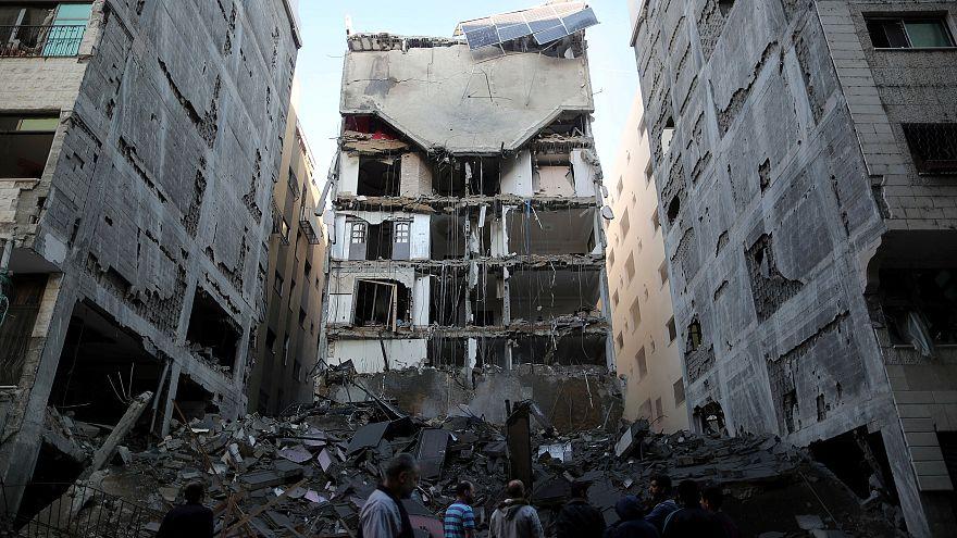 Gaza e Israel celebram cessar-fogo