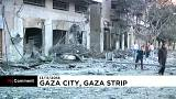 Légicsapások után körkép Gázából