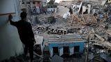 شاهد: الدمار الذي خلفته الضربات الجوية الإسرائيلية على قطاع غزة