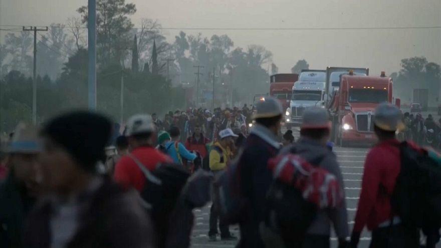 Messico, carovana migranti a Guadalajara