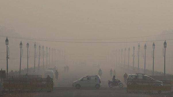 Hindistan'da hava kirliliği