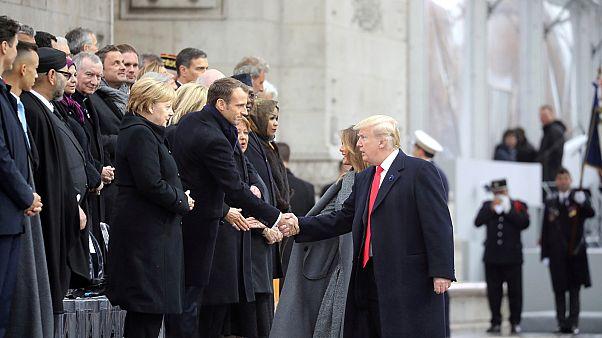 """ترامب: """"لولا الولايات المتحدة لتحدث الفرنسيون باللغة الألمانية"""""""