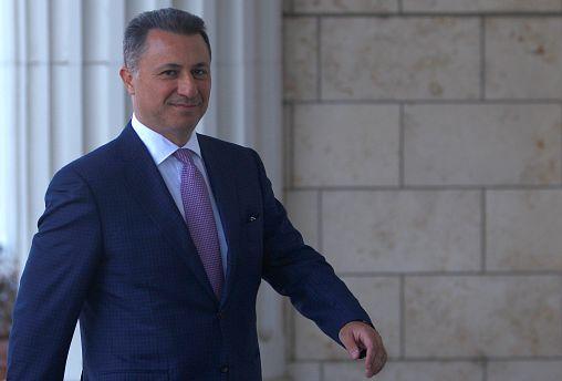 Elismerte a Miniszterelnökség, hogy Nikola Gruevszki menedékjogot kért