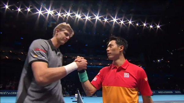 ATP FINALS: Anderson batte Nishikori 6-0 6-1