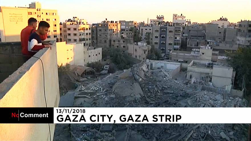 A violência em Gaza antes do cessar-fogo