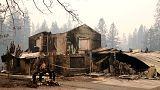 Kaliforniya yangınları Miley Cyrus, Kim Kardashian, Gerard Butler gibi ünlülerin evlerini de yaktı