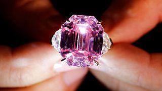 El diamante rosa más caro del mundo
