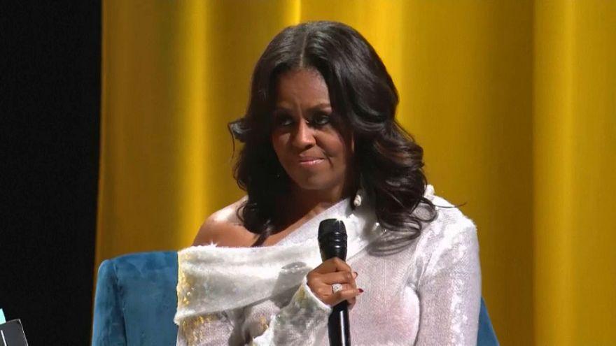 Michelle Obama stellt Buch vor