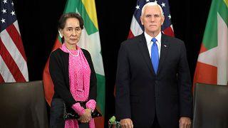 "Rohingyas : Mike Pence qualifie les violences d'""inexcusables"""