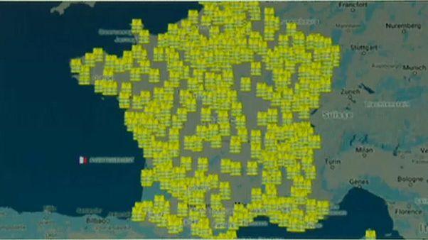 """Frankreich: """"Gelbe Westen"""" gegen hohe Spritpreise"""