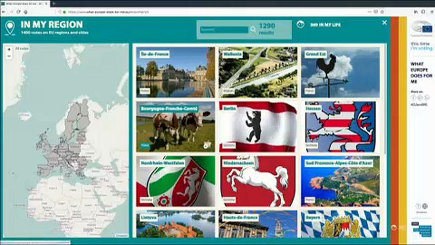 """Info und Promo: Neue Webseite """"Was Europa für mich tut"""""""