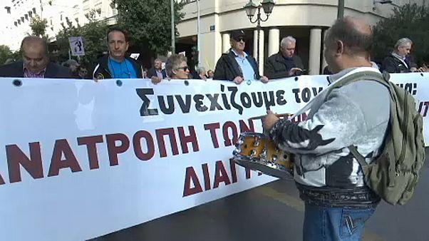 Háborognak a közszférában dolgozók Görögországban
