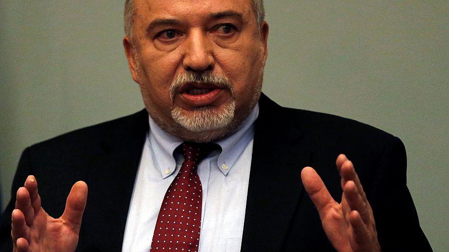 Israels Verteidigungsminister Lieberman erklärt Rücktritt