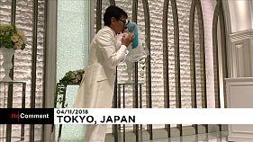Ιάπωνας παντρεύτηκε τρισδιάστατο ολόγραμμα τραγουδίστριας