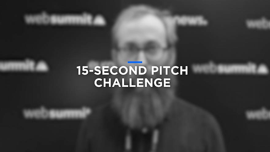 Start-ups take the Euronews pitch challenge at Web Summit