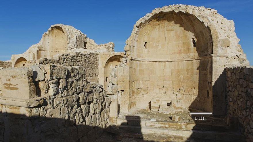 كنيسة المعمودية بجوار الكنيسة الشمالية في شبطا بالنقب