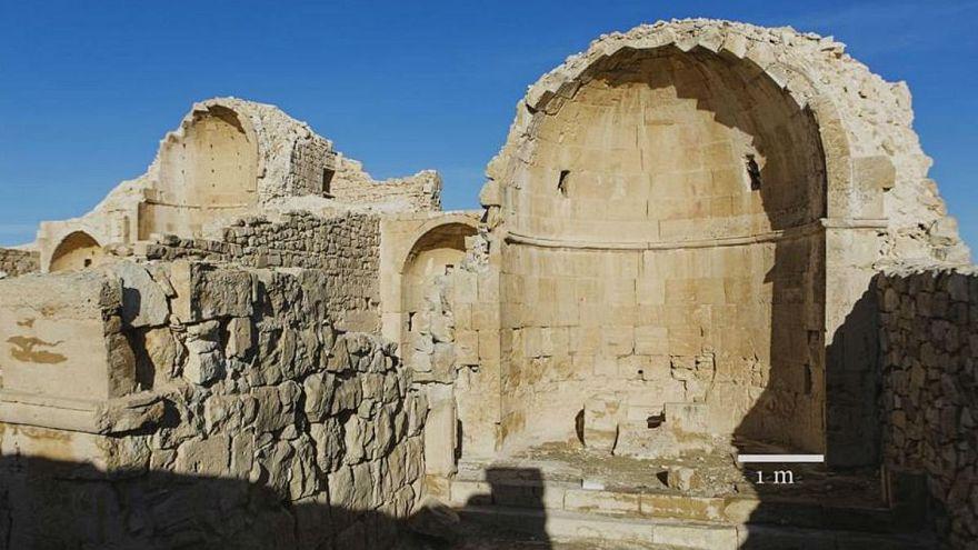 کشف یک نقاشی باستانی از چهره عیسی مسیح در سرزمین مقدس
