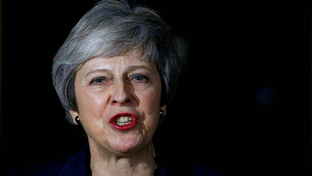 UK prime minister Theresa May speaks amid resignations over draft Brexit agreement