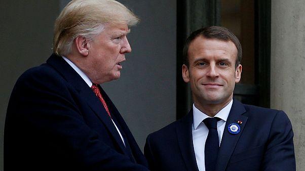 Macron'dan Trump'a yanıt: Fransa ABD'ye bağımlı bir ülke değil