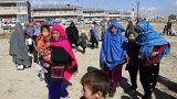 آلاف يهربون بعد هجوم طالبان على منطقتين في أفغانستان