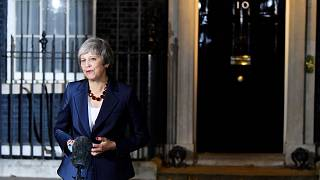 Theresa May announces her government will back the Brexit deal