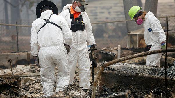 Kaliforniya yangınları: Ölü sayısı 71'e yükseldi, en az bin kişiden haber alınamıyor
