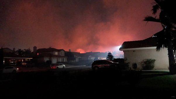 شمار جان باختگان حریق در کالیفرنیا به ۵۶ نفر رسید