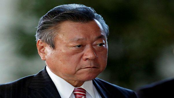 يوشيتاكا ساكورادا وزير الأمن الإلكتروني والأولمبياد الياباني
