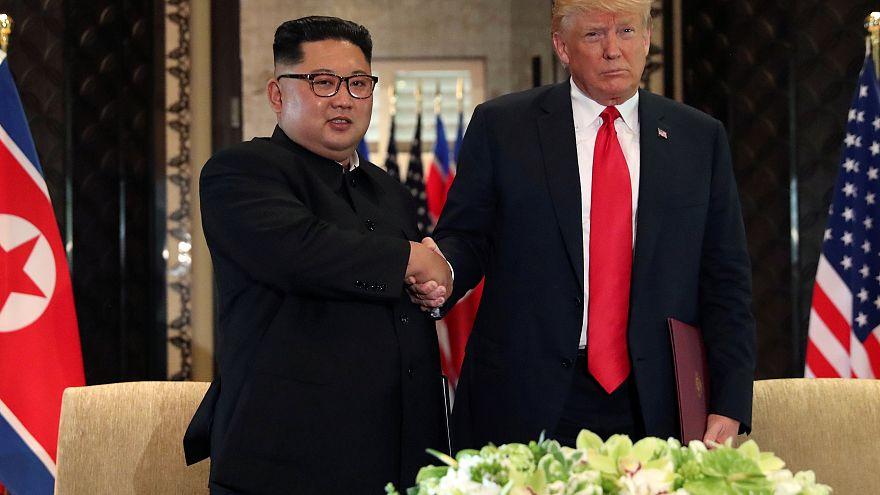 Trump ve Jong-un 2019 başında ikinci kez yüz yüze görüşecek