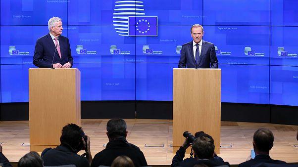 Brexit: le reazioni di Donald Tusk e Michel Barnier