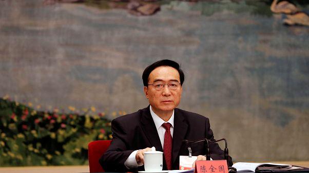 تشن تشوان قوه رئيس الحزب الشيوعي في شينجيانغ