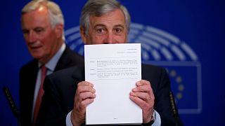 Chaos in London nach Brexit-Deal mit Brüssel