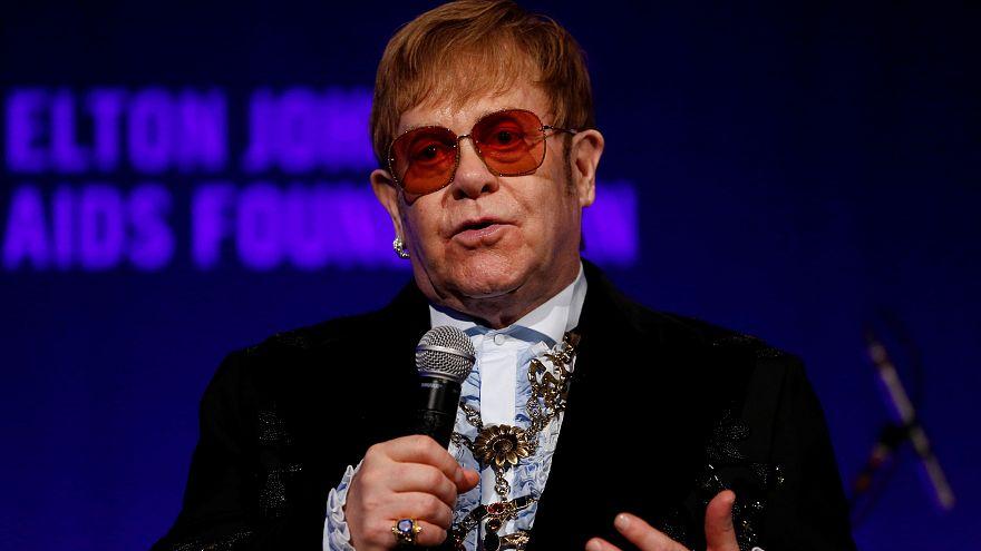 British retailer John Lewis believes Elton John can boost sales this Christmas