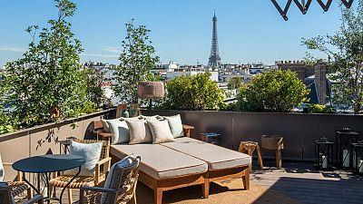 Rooftop urban garden, luxury container hotel and underwater dining