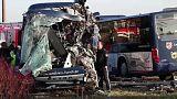 Dois autocarros escolares colidem na Alemanha